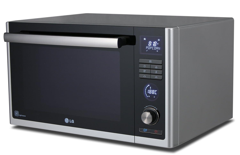 LG MJ3281BC - Microondas con aire caliente y grill de carbón ...