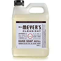 Mrs. Meyer's Clean Day Liquid Hand Soap Refill, Cruelty Free and Biodegradable Hand Wash Made with Essential Oils…