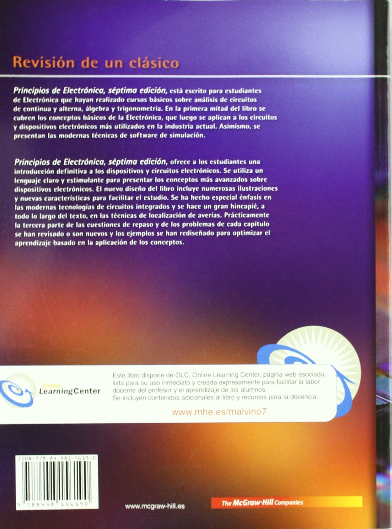libro principios de electronica malvino
