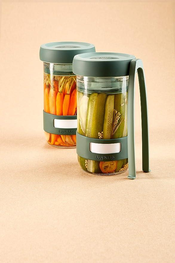 Amazon.com: Lekue 3000100SURM017 - Kit de fermentación para ...