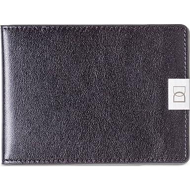 Amazon.com: Dun carteras piel Original portafolios | Negro ...