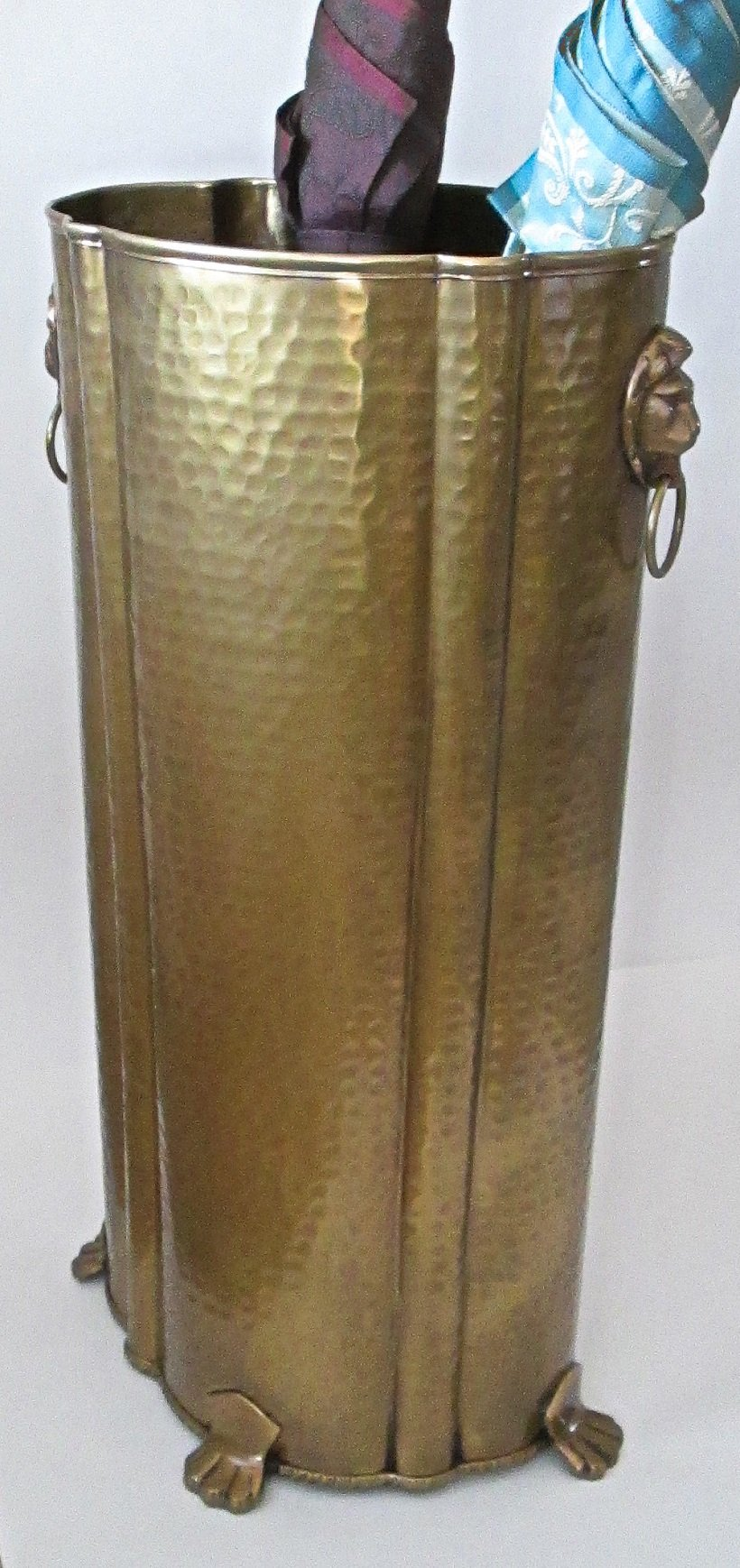 Brass Umbrella Stand 112AB-LION