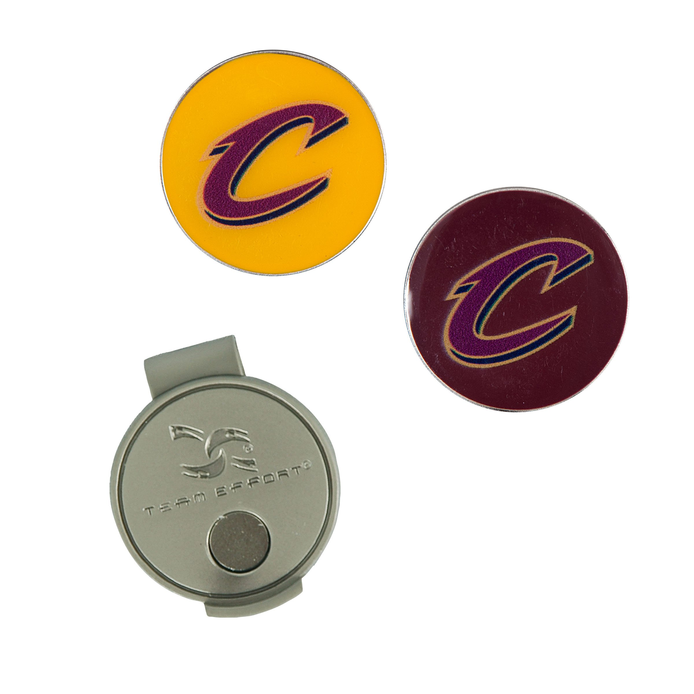 Team Effort NBA Cleveland Cavaliers Hat Clip & 2 Ball Markers