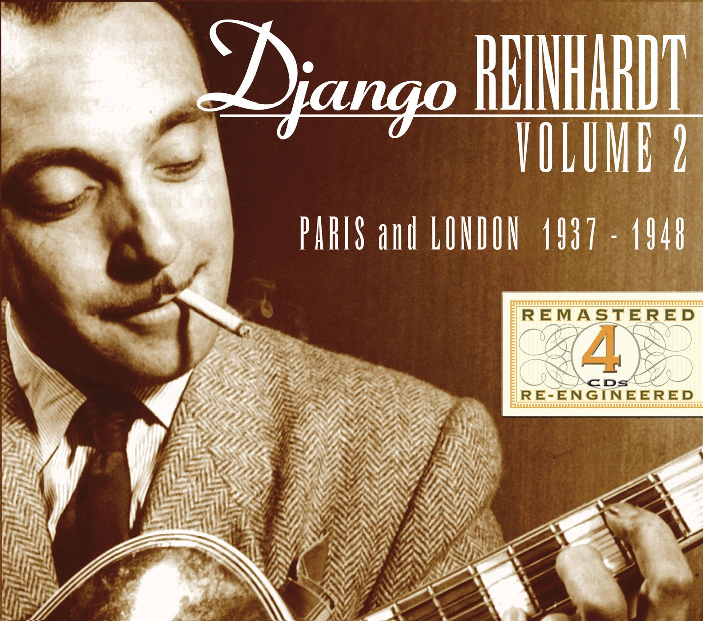 Django Reinhardt Paris & London 1937-48 by JSP