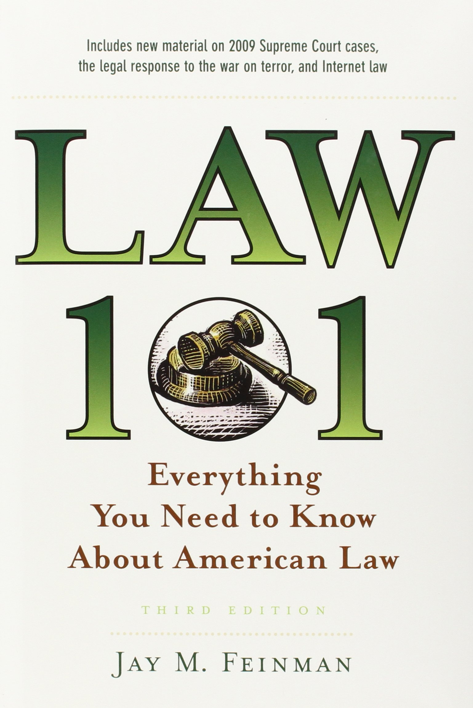 Law 101: Everything You Need to Know About American Law (Law