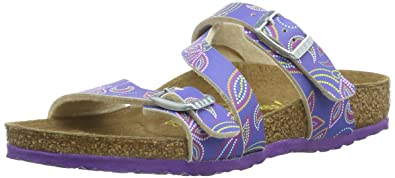 Unisex-Child Salina Kids BIRKOFLOR Thong Sandals 23223 Flower Points Lilac Birkenstock gnRPc9