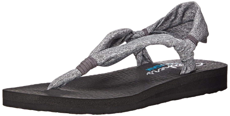 skechers yoga mat shoes. skechers meditation summer breeze, women\u0027s heels sandals, grey (grey), 3 uk (36 eu): amazon.co.uk: shoes \u0026 bags yoga mat k
