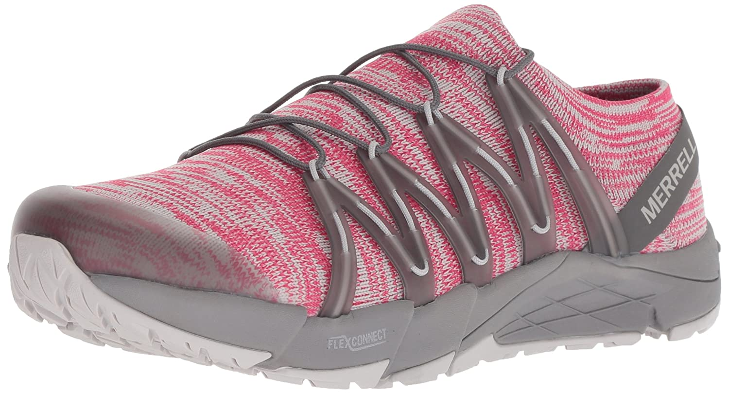 rose Merrell Bare Access Flex Knit, Chaussures de Fitness Femme