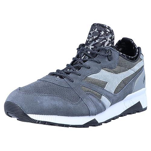 Diadora N9000 Camo Socks para Hombre Zapatillas Gris, Tamaño:47: Amazon.es: Zapatos y complementos