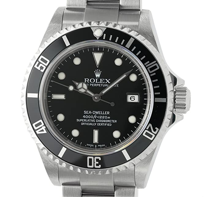 Rolex sea-dweller automatic-self-wind Mens Reloj 16600 (Certificado) de