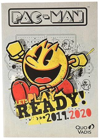 Quo Vadis Pac-Man Textagenda - Agenda escolar diaria (12 x ...