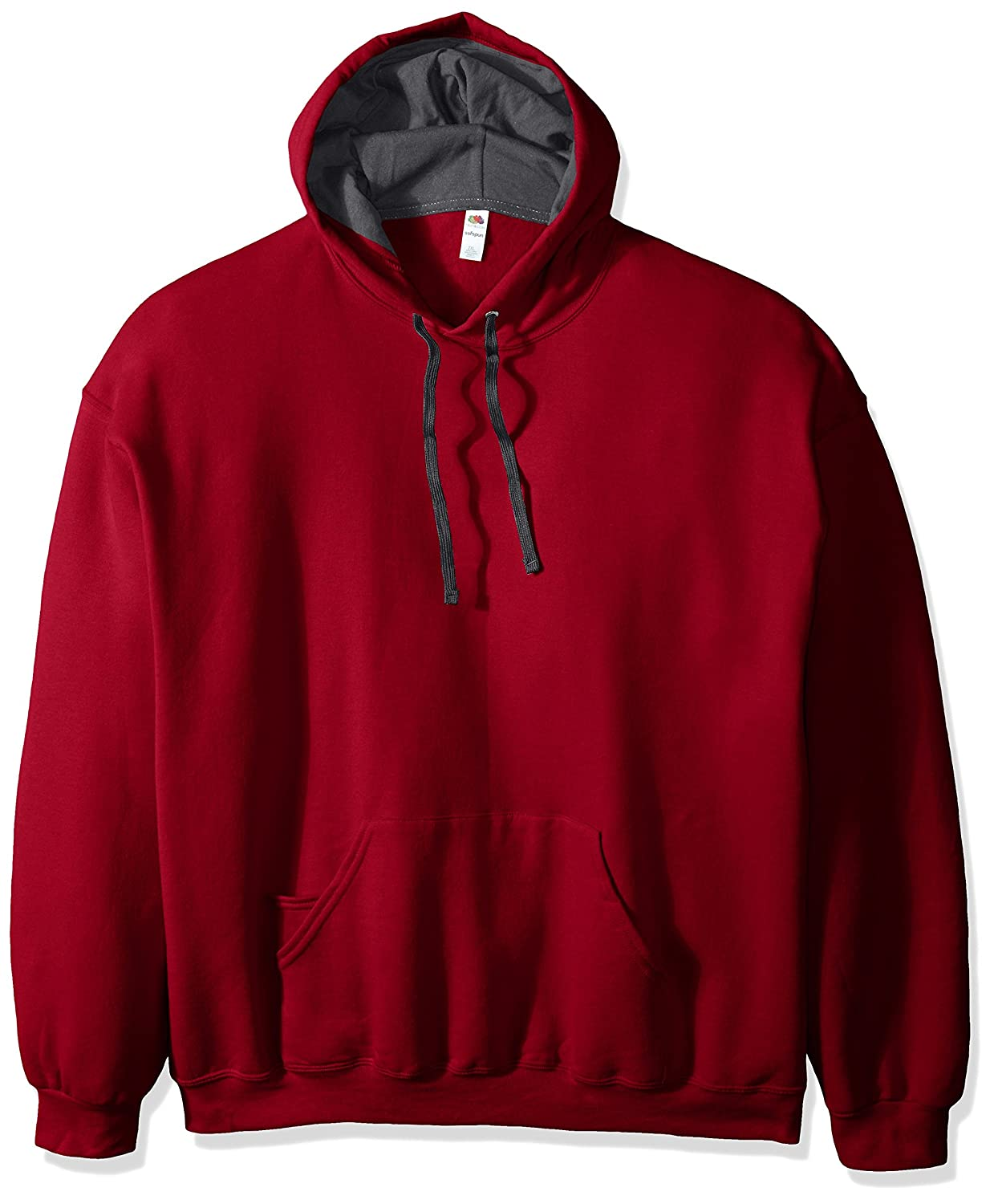 Fruit of the Loom mens Men's Hooded Sweatshirt - Extra Sizes RSF76XR