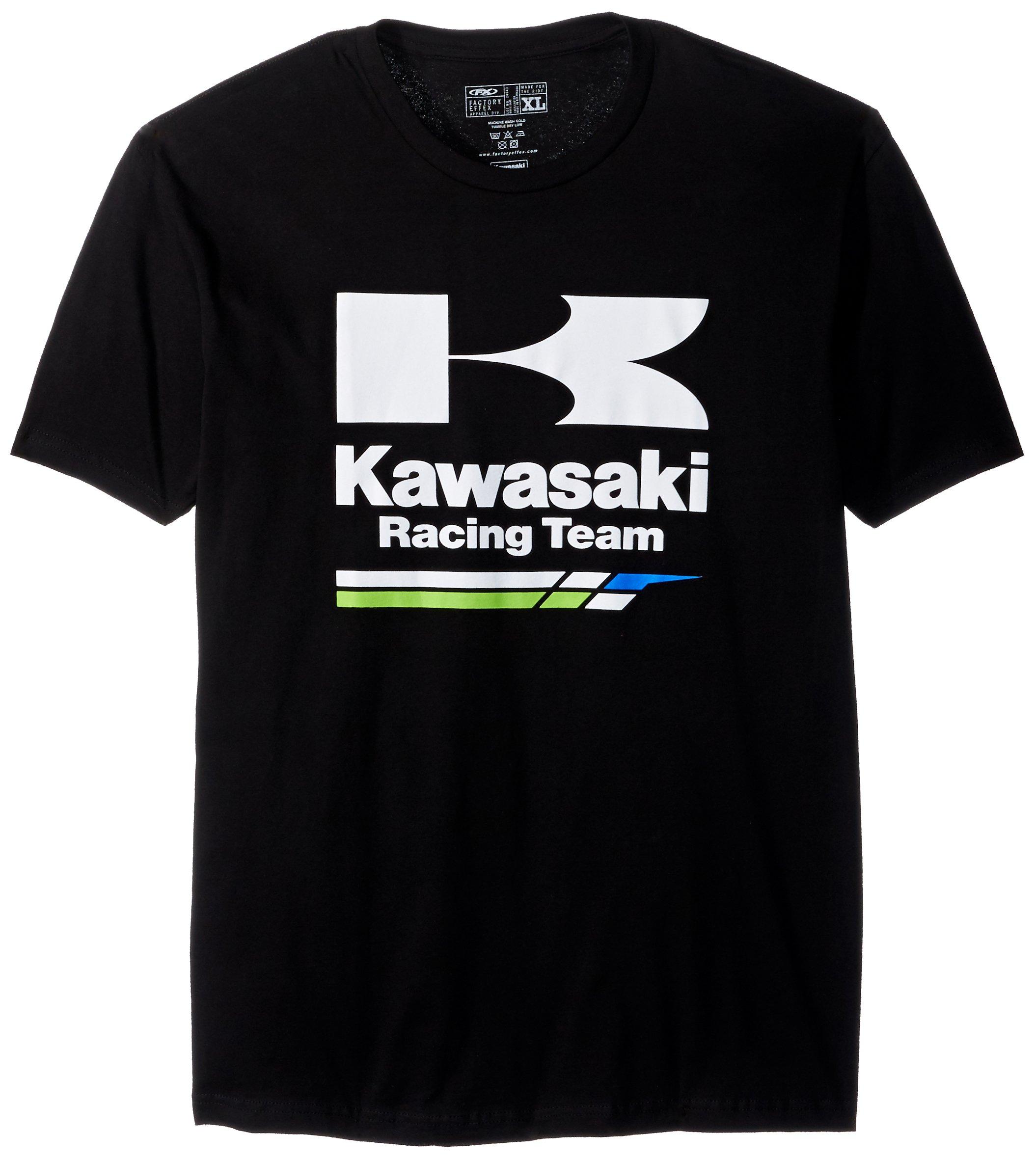 Factory Effex (18-87106) Racing T-Shirt (Black, X-Large)