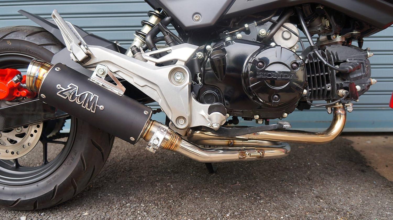 Zoom Exhaust Honda Grom 125 Msx 2013 2018 125sf Full Pro Circuit T4 Complete System Motosport Loop Low Mount Black 2slz Automotive