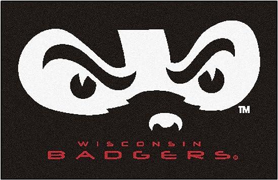 19 x 30 FANMATS 18791 Wisconsin Uniform Inspired Starter Rug