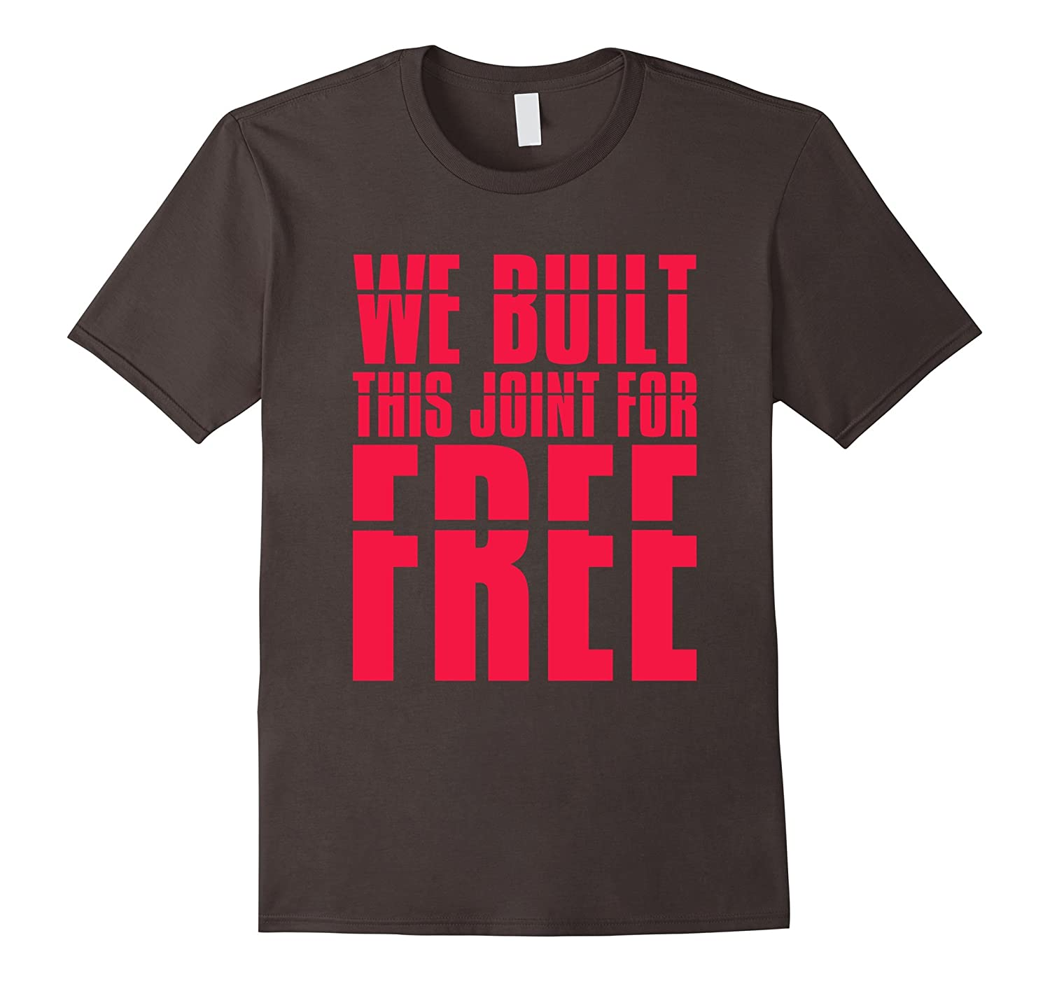 Angela Rye We Built This Joint For Free T-Shirt-TD
