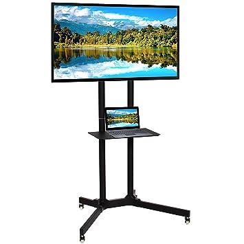 Mejor elección Productos Acero Soporte de Mesa Soporte de TV Mobile TV Carrito w/con