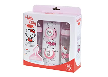 Nuk - 710.305 - Box Set - 2 botellas de 2 chupetes - Hello ...