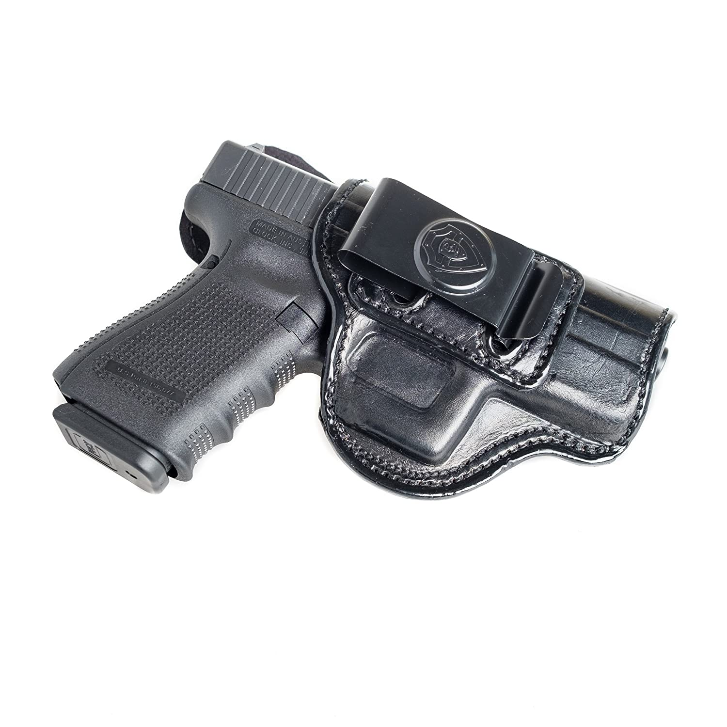 Amazon.com : Inside The Waistband Leather Holster For S&W J Frame 1 ...