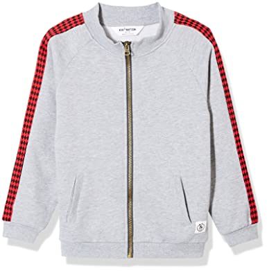 b14e9150b Amazon.com: Kid Nation Kids' Graphic Zip Fleece Jacket for Boys Or ...