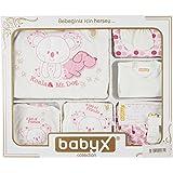 Babyx 7058K Koala Kız Hastane Çıkış Setleri, 11'li