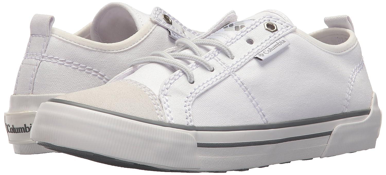 Columbia Women's Goodlife Lace Sneaker B073RMVCMC 6.5 B(M) US White, Ti Grey Steel
