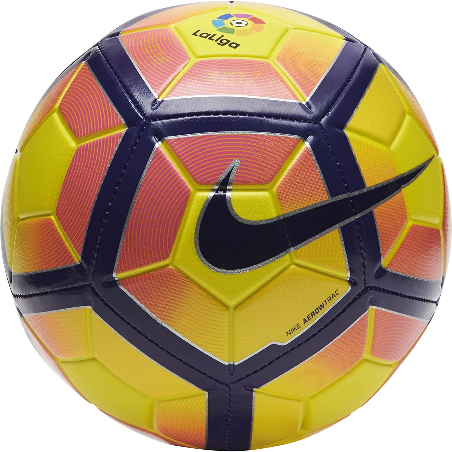 Nike Strike La Liga Balón, Unisex Adulto, Amarillo (Yellow/Purple ...