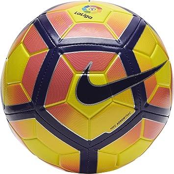 Nike Strike La Liga Balón, Unisex Adulto, Amarillo (Yellow/Purple ...