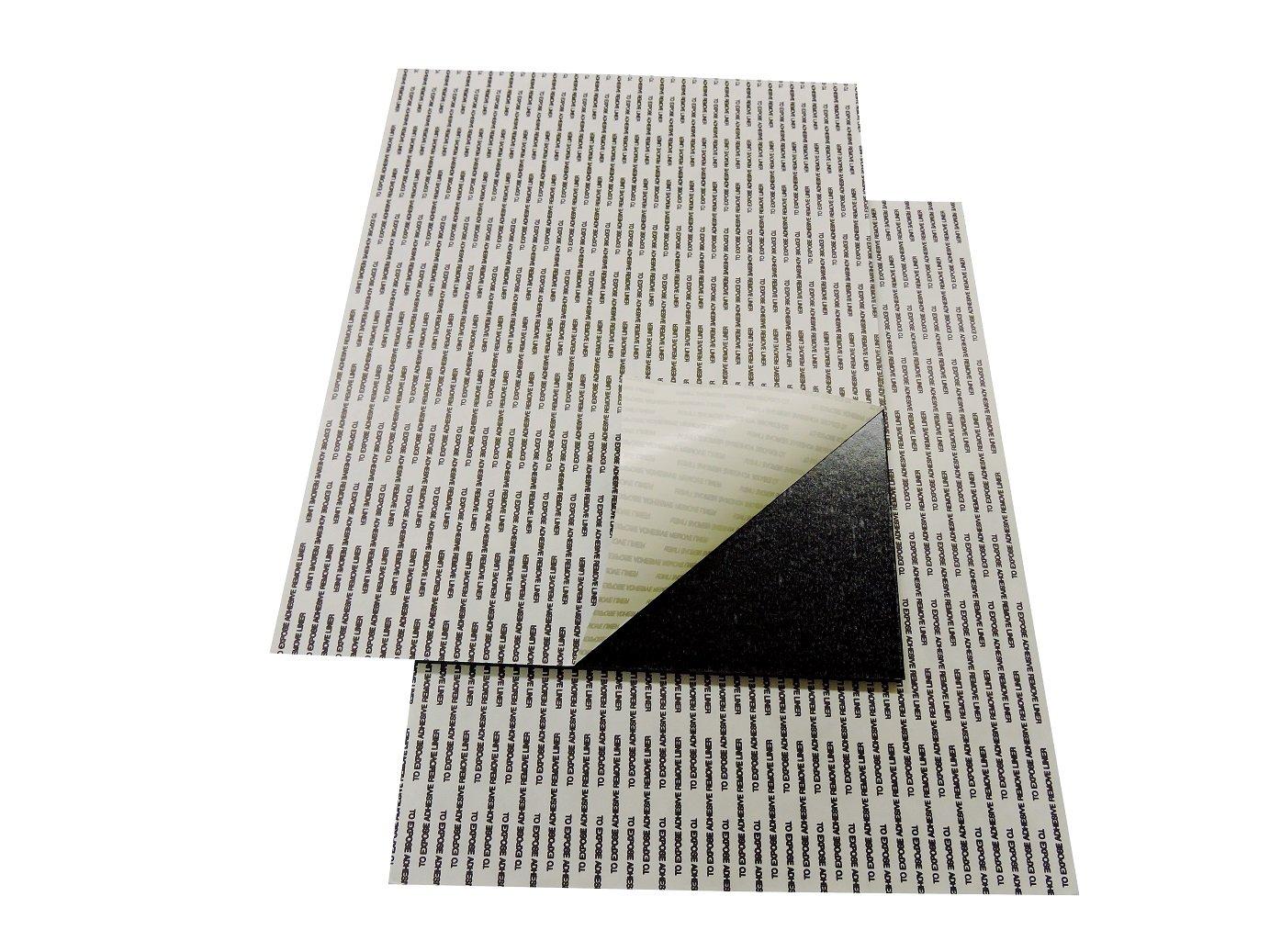 Self-Stick Adhesive Black Foam Boards 24''x36'' (10)