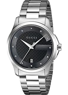 15bb2300bb3 Amazon.com  Gucci Gucci Timeless Men s Watch(Model YA126402)  Gucci ...