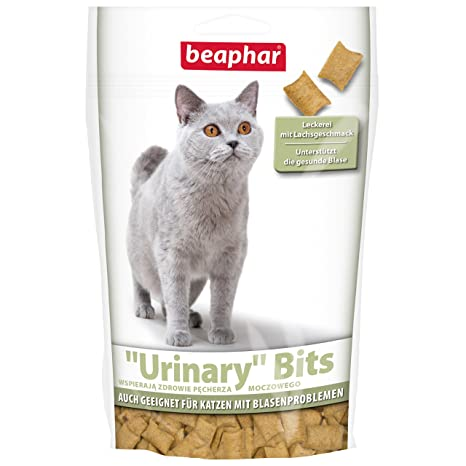 Beaphar Urinary Puntas para Gatos | crujientes Gatos Fuga erlies, admite la Saludable Saco de