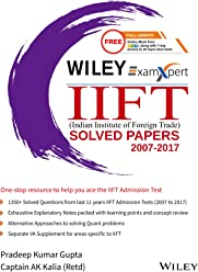Wiley's ExamXpert IIFT (Indian Institute of Foreign Trade) Solved Papers 2007 - 2017