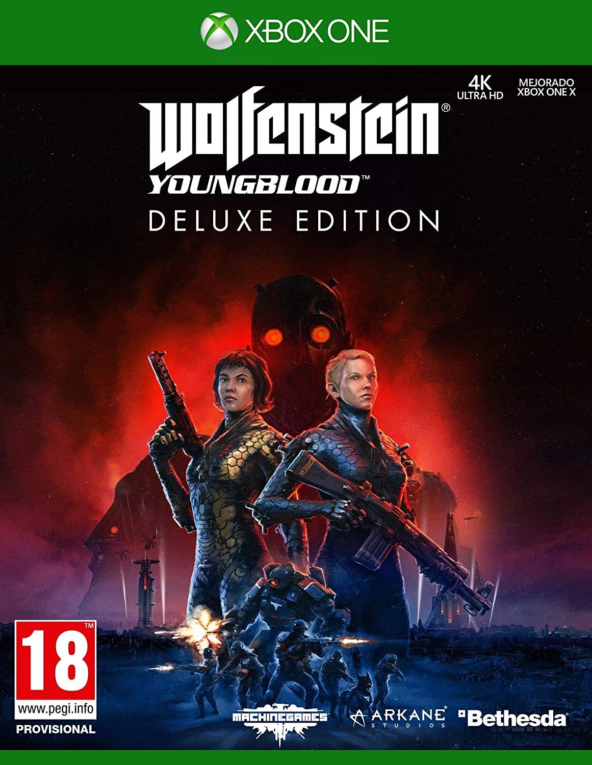 Wolfenstein Youngblood - Edición Deluxe Xbox One: Amazon.es: Videojuegos