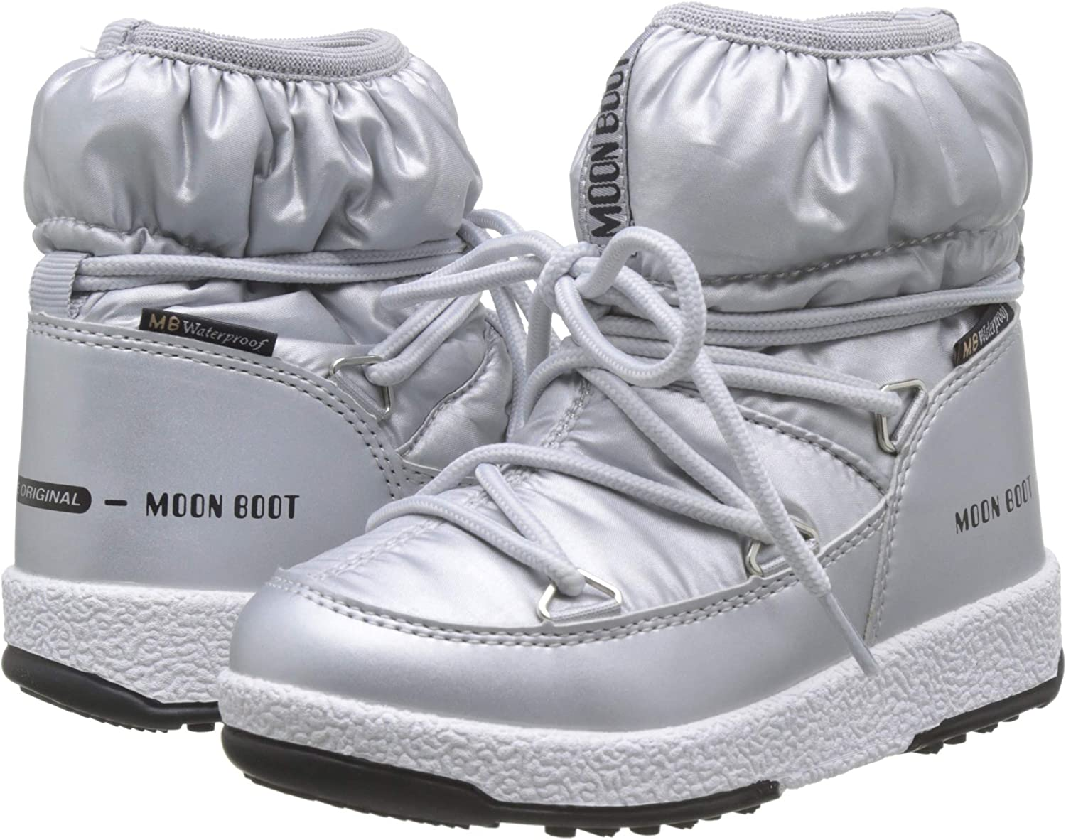 Bottes de Neige Fille Moon-boot Jr Girl Low Nylon WP