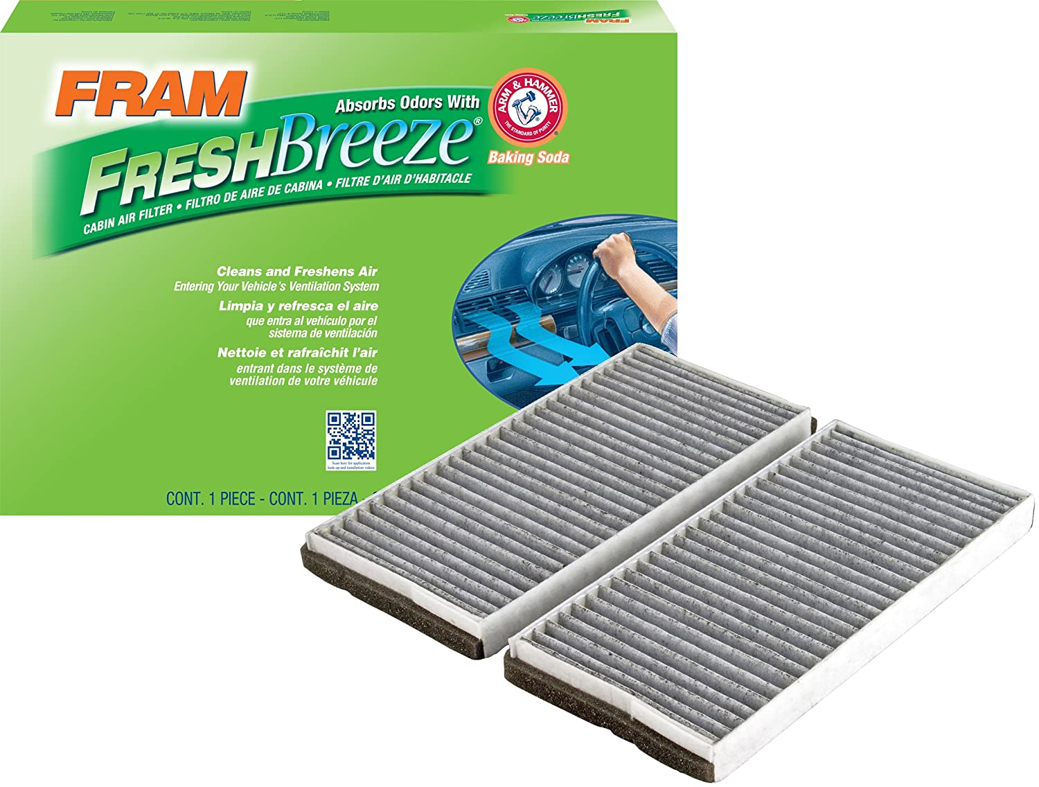 FRAM CF8726A Fresh Breeze Cabin Air Filter