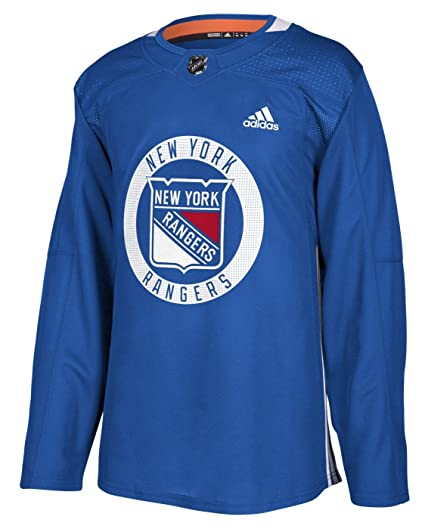 6d63b8b4a adidas New York Rangers NHL Men s Climalite Authentic Practice Jersey ...