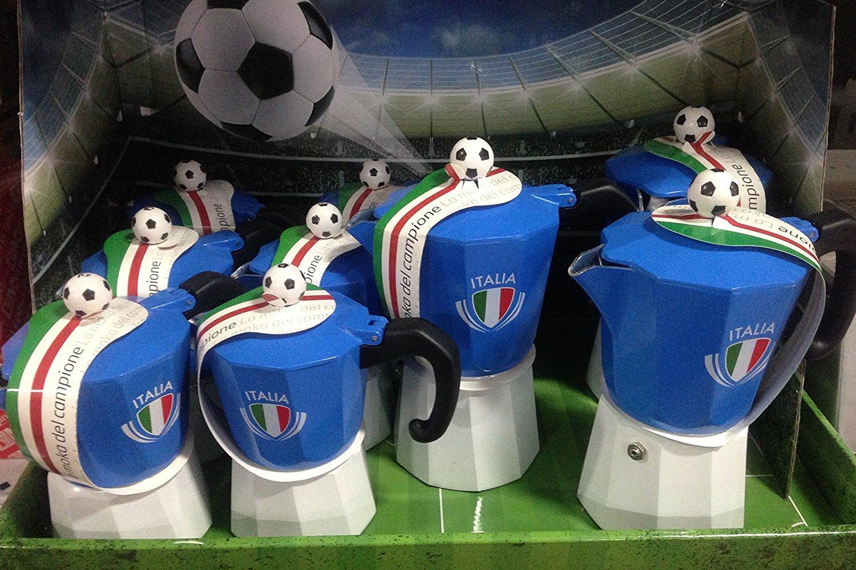 Forever: La Moka Del Campione for The Italian Soccer Team Fan - 1 Cup The Champions Moka Italian Import