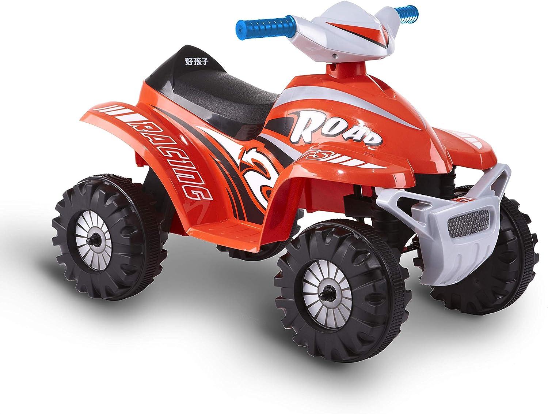 Rollplay ATV Mini Quad, 6V, Rojo, Color (26611)