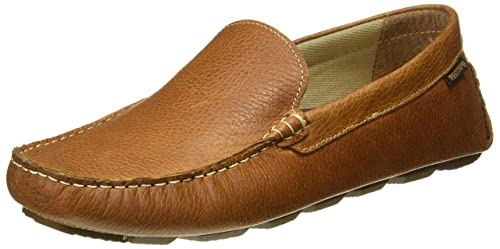 a4de48f9fa58f5 Red Tape Men's Brown Leather Loafers - 7 UK/India (41 EU)(RTS10193 ...
