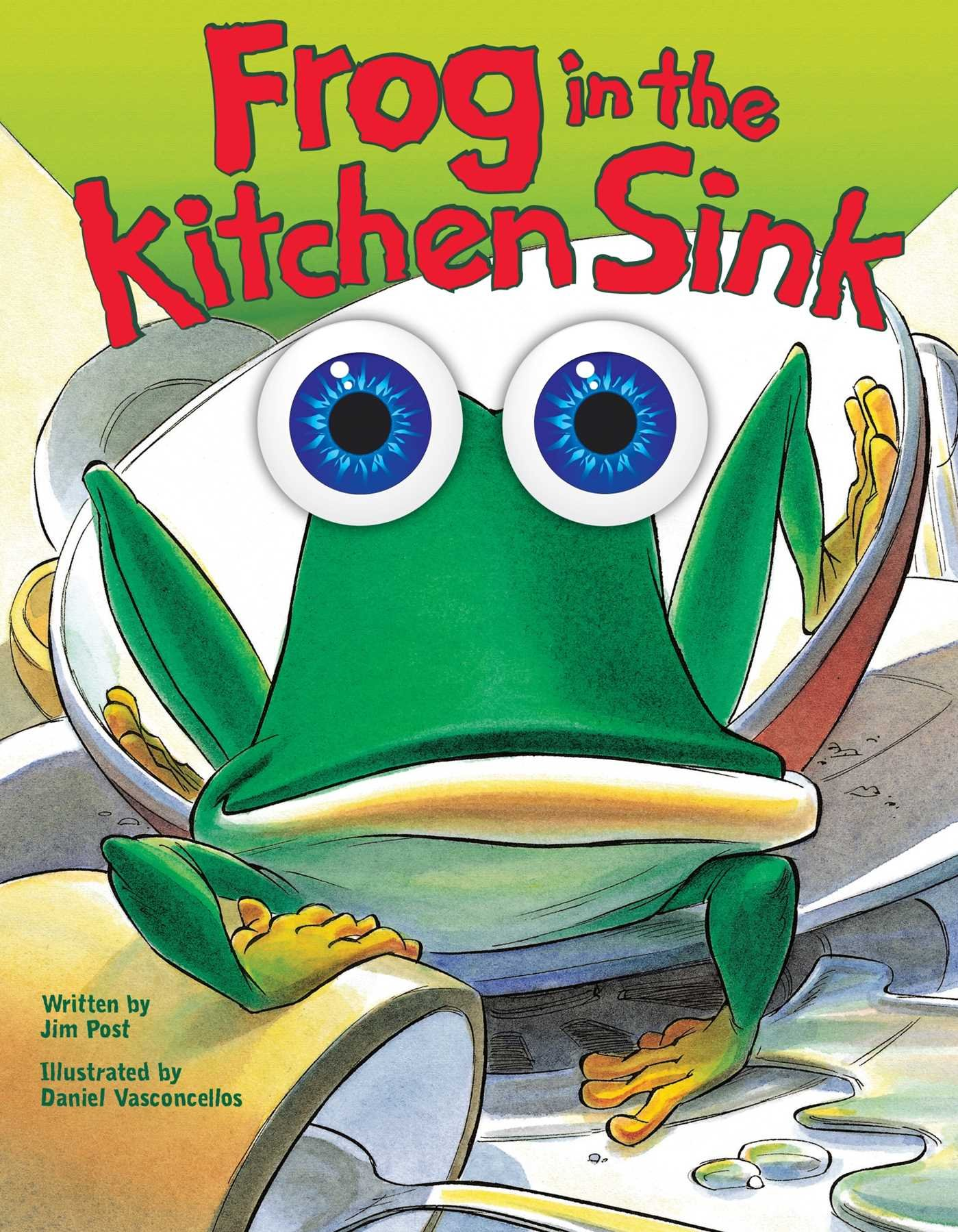 delightful Frog In The Kitchen Sink Song #1: Frog in the Kitchen Sink: Jim Post, Daniel Vasconcellos: 0050837343986:  Amazon.com: Books