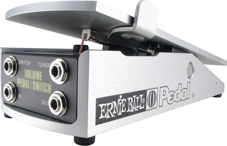 Pedal de volumen Ernie Ball Mono 250K con interruptor