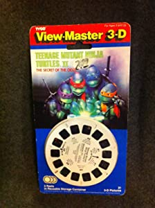 Teenage Mutant Ninja Turtles Viewmaster New