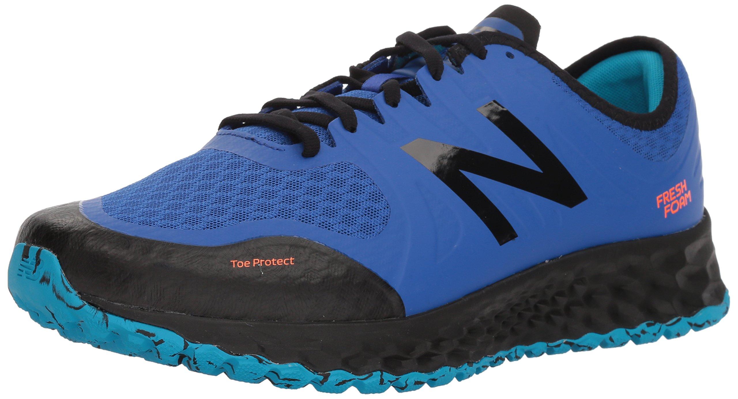 New Balance Men's Kaymin Trail v1 Fresh Foam Trail Running Shoe, Deep Pacific, 7 D US by New Balance (Image #1)