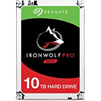 Seagate Ironwolf Pro 10 TB NAS RAID Internal Hard Drive - 7,200 RPM SATA 6 Gb/s 3.5-inch (ST10000NE0004)