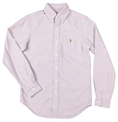 Amazon.com: Polo Ralph Lauren Men's Long Sleeve Oxford Button Down ...