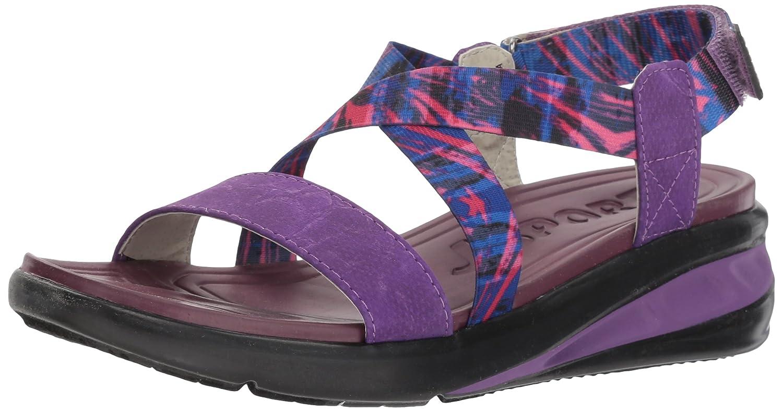 JSport by Jambu Women's Sunny Wedge Sandal B074KNX6YD 9.5 B(M) US Raspberry