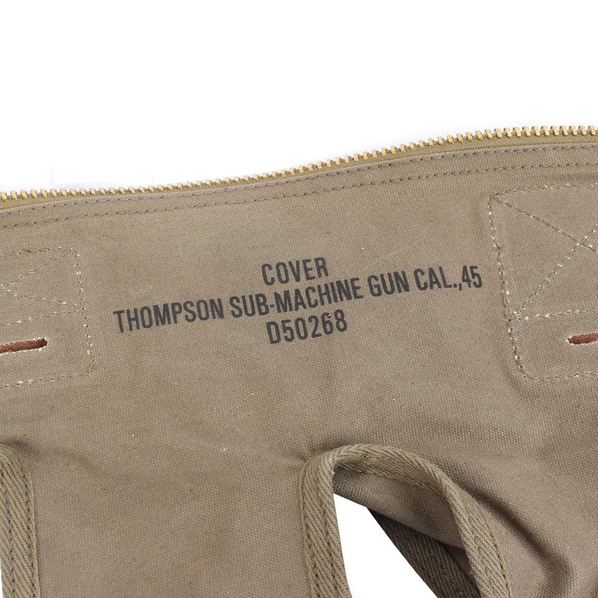 Reproduktion 2 Weltkrieg Thompson 2309/Gun Bezug mit Rei/ßverschluss weicher Fall