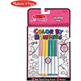 Melissa & Doug On The Go Color by Numbers Kids' Design Board - Unicorns, Ballet, Kittens, and More