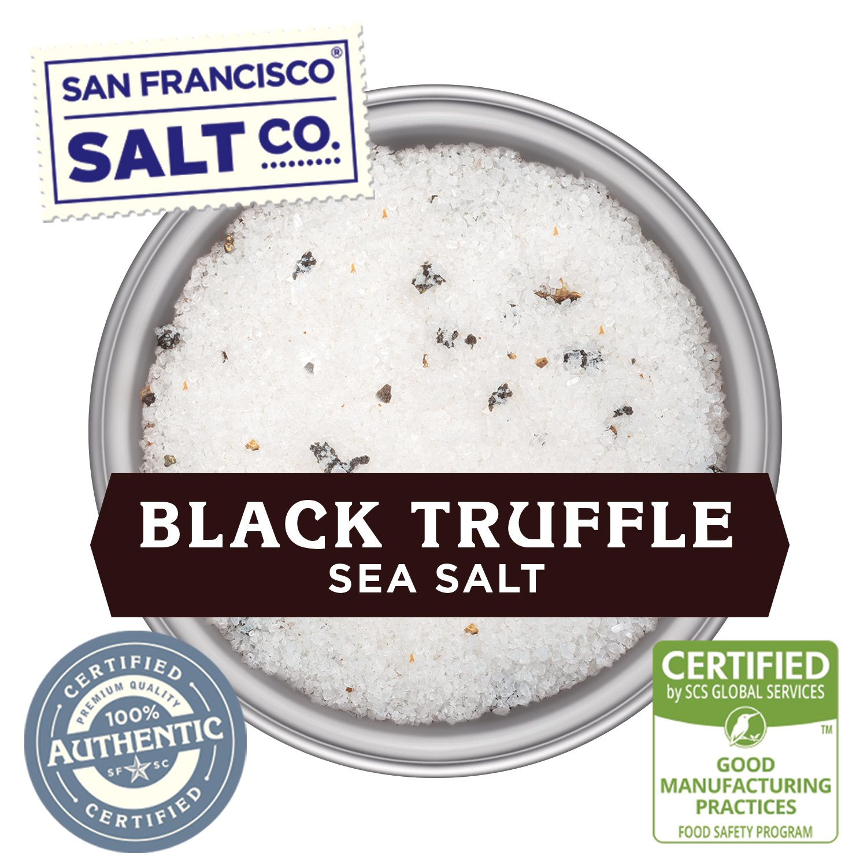 1 lb. Bulk Bag - Authentic Italian Black Truffle Salt by San Francisco Salt Company (Image #5)