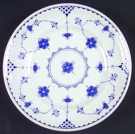 Dinner Plate (10 1/8 in) - Johnson Brothers Denmark Blue at Replacements, Ltd - Page 1